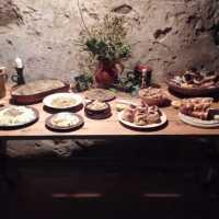 Vánoční stůl našich předků